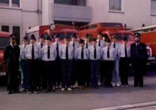 Gründung der Jugendfeuerwehr Daun 1982
